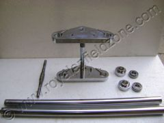 FRONT FORK ASSY. IN CHROME FOR BROAD TYRE(UPTO 150 NO.)