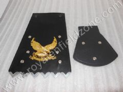 CUSTOM FRONT AND REAR GOLD EAGLE MUDGUARD FLAP