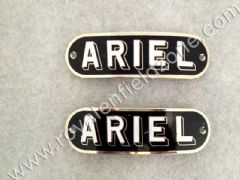 BRITISH ARIEL MOTORCYCLE DECAL BADGE