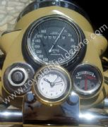 STEERING STEM WATCH IN BRASS