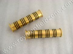 HANDLE GRIPS BRASS WITH RUBBER O RING