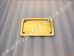 REAR NO PLATE BRASS