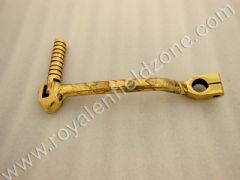 KICK LEVER BRASS ENGRAVED