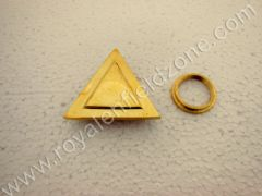 BRASS TANK CAP TRIANGLE