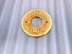 BRASS REAR HUB PLATE