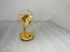 GOLD COLOR TABLE FAN (SMALL)