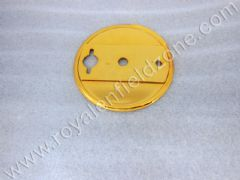 BRASS COLOUR REAR BRAKE SHOE PLATE (NO BRASS IN ALLM)