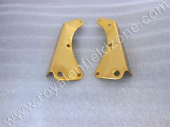 BRASS COLOUR ENGINE PLATE PLATE (NO BRASS IN STEEL)