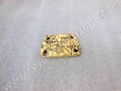 ENGRAVED BRASS TAPPED PLATE UCE MODEL