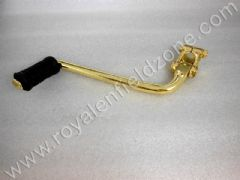 BRASS COLOUR KICK LEVER UCE CLASSIC /ELECTRA(NO BRASS IN STEEL)