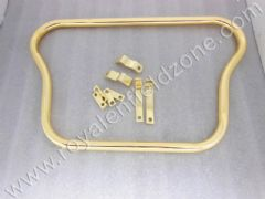 BRASS COLOUR FRONT CRASH BAR(NO BRASS IN STEEL)
