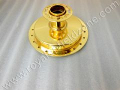 BRASS COLOUR FRONT OLD MODEL HUB(NO BRASS IN ALLM)