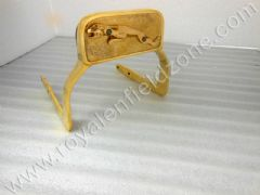 BRASS BACKREST WITH JAGUAR LOGO