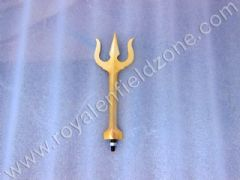 TRISHUL IN BRASS FOR FRONT MUDGUARD