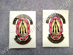 BSA motorcycles Birmingham Small Arms Decal sticker SET