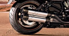 DOUBLE CUSTOMIZED HARLEY SILENCER