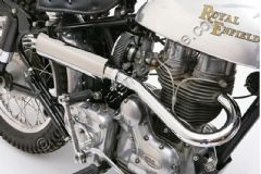 TRAILS 500cc/350cc SILENCER AND BEND