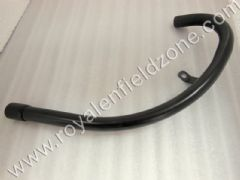 BEND PIPE IN BLACK