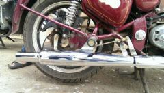 WILD BOAR EXHAUST FOR CLASSIC/ELECTRA/T.B