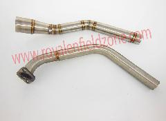 Sport bike u3 bend pipe