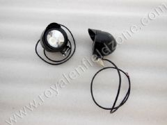 POWERFUL FOG LAMP IN BLACK IN LED WITH PEAK