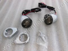 SMOKE GLASS BLINKERS IN LED FOR FRONT SHOCK ABSORBER