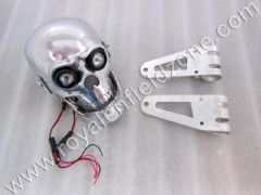 SKULL HEAD LAMP TYPE 2 WITH MOVABLE JAW AND BRACKETS