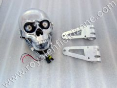 SKULL HEAD LAMP TYPE 2 WITH MOVABLE JAW,BRACKETS AND PROJECTOR