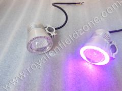 FOG LAMP  WITH DEVIL EYE WITH HANDLE BAR  FIITING CLAMPS