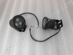3 LED FOG LAMP IN BLACK