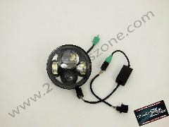 HEAD LAMP LED FOR HARLEY 5 3/4 SIZE