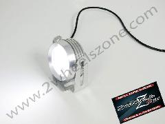 STROBE LAMP BIG SIZE IN CHROME