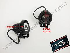 BLACK FOG LAMP IN SMD