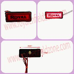 led reflector with royal written