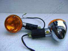 INDICATORS WITH ORANGE GLASS