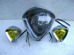 TRIANGULAR H.L ASSY WITH FOG LAMPS