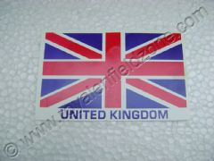 U.K FLAG STICKER
