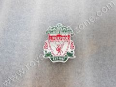 LIVERPOOL LOGO IN METAL