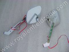 CUSTOM REAR VIEW MIRRORS WITH LED