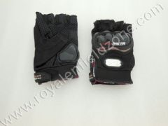 HALF GLOVES BLACK