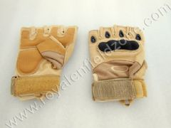 HALF GLOVES IN DESERT STORM COLOR