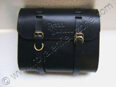 SADDLE BAG (BLACK) LEATHER