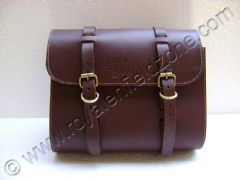 SADDLE BAG (BROWN) LEATHER