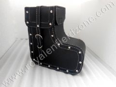 SADDLE BAG SHOE DESIGN