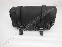 RECTANGLE TOOL BAG  BIG WITH FRILL IN LEATHER TYPE 2