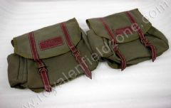 CANVAS BAG PAIR IN MILITRY GREEN COLOR