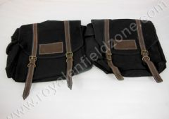 CANVAS BAG PAIR IN BLACK COLOR
