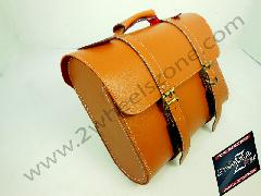 TAN COLOR  SADDLE BAG WATER PROOF