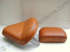 SADDLE SEATS WITH LEATHER COVER