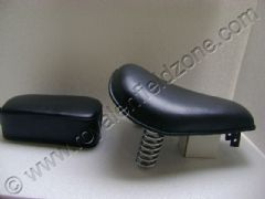 SADDLE SPRING SEAT(LEATHER COVER)